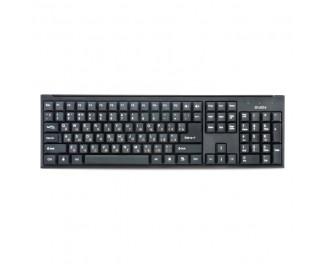 Клавиатура Sven Standard 303 черный USB