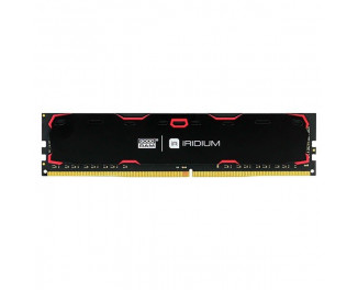 Оперативная память DDR4 8 Gb (2133 MHz) GOODRAM Iridium Black (IR-2133D464L15S/8G)