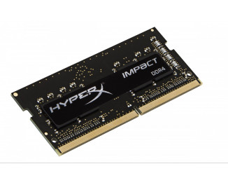 Память для ноутбука SO-DIMM DDR4 16 Gb (2400 MHz) (Kit 8 Gb x 2) Kingston HyperX Impact Black (HX424S14IB2K2/16)