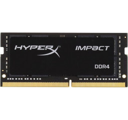 Память для ноутбука SO-DIMM DDR4 8 Gb (2400 MHz) Kingston HypeX Impact (HX424S14IB2/8)