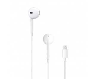 Наушники Apple EarPods with Lightning Connector (MMTN2)