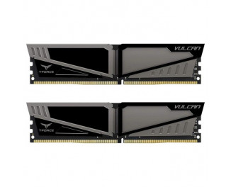 Оперативная память DDR4 8 Gb (2666 MHz) (Kit 4 Gb x 2) Team T-Force Vulcan Gray (TLGD48G2666HC15BDC01)