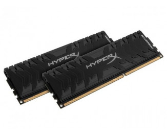 Оперативная память DDR4 32 Gb (2666 MHz) (Kit 16 Gb x 2) Kingston HyperX Predator Black (HX426C13PB3K2/32)