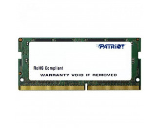 Память для ноутбука SO-DIMM DDR4 4 Gb (2400 MHz) Patriot (PSD44G240081S)