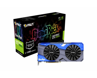 Видеокарта Palit GeForce GTX 1080 Ti GameRock Premium Edition (NEB108TH15LC-1020G)