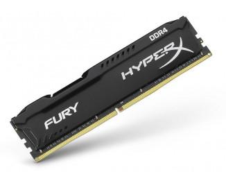 Оперативная память DDR4 8 Gb (2666 MHz) Kingston HyperX Fury Black (HX426C16FB2/8)