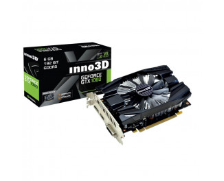 Видеокарта Inno3D GeForce GTX 1060 6GB Compact (N1060-6DDN-N5GM)