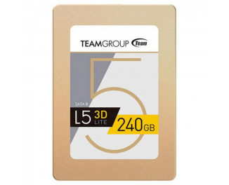 SSD накопитель 240Gb Team L5 Lite 3D Gold (T253TD240G3C101)