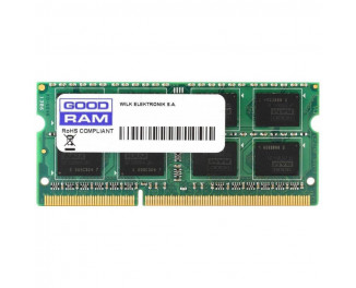 Память для ноутбука SO-DIMM DDR4 4 Gb (2400 MHz) GOODRAM (GR2400S464L17S/4G)
