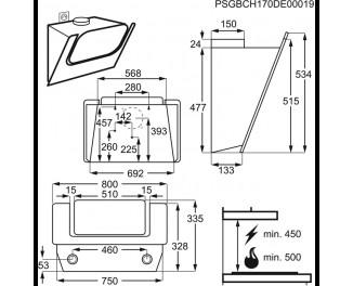 Вытяжка Electrolux EFV80464OW