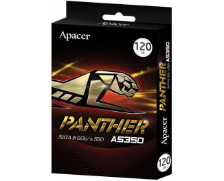 SSD накопитель 120Gb Apacer AS350 Panther (AP120GAS350-1)