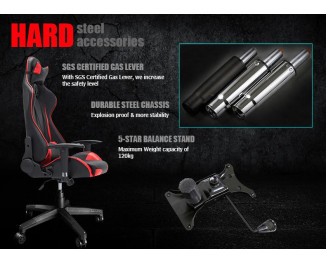 Игровое кресло RAIDMAX DRAKON Gaming Chair DK706BU Black/Blue