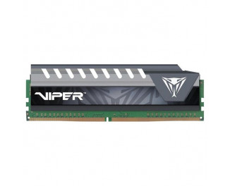 Оперативная память DDR4 16 Gb (2400 MHz) Patriot Viper Elite Gray (PVE416G240C6GY)