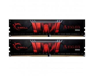 Оперативная память DDR4 16 Gb (3000 MHz) (Kit 8 Gb x 2) G.SKILL Aegis (F4-3000C16D-16GISB)
