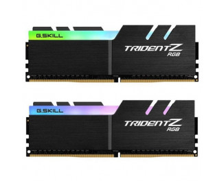 Оперативная память DDR4 32 Gb (2400 MHz) (Kit 16 Gb x 2) G.SKILL Flare X (For AMD Ryzen) Black (F4-2400C16D-32GFX)