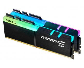 Оперативная память DDR4 32 Gb (3600 MHz) (Kit 16 Gb x 2) G.SKILL Trident Z RGB (F4-3600C17D-32GTZR)