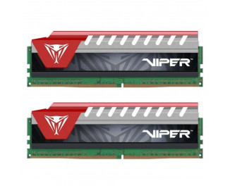 Оперативная память DDR4 8 Gb (2800 MHz) (Kit 4 Gb x 2) Viper Elite (Red) Patriot (PVE48G280C6KRD)