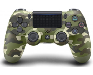 SONY PlayStation Dualshock v2 Green Cammo