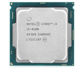 Процессор Intel Core i3-8100 (CM8068403377308) tray