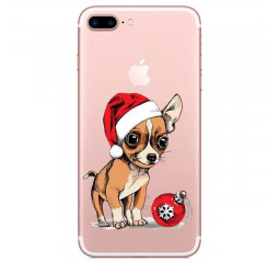 Чехол для смартфона Apple iPhone 8 Lephee TPU Silicone Merry Christmas F2