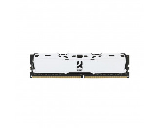 Оперативная память DDR4 8 Gb (3000 MHz) GOODRAM Iridium X White (IR-XW3000D464L16S/8G)