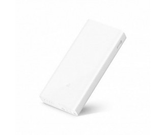Портативный аккумулятор Xiaomi Mi Power Bank 2C 20000mAh white (VXN4220GL/VXN4212CN | PLM06ZM)