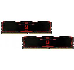 Оперативная память DDR4 16 Gb (2666 MHz) (Kit 8 Gb x 2) GOODRAM Iridium X Black (IR-X2666D464L16S/16GDC)