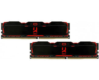 Оперативная память DDR4 16 Gb (2666 MHz) (Kit 8 Gb x 2) GOODRAM Iridium X Black (IR-X2666D464L16S/16GDC)