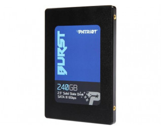 SSD накопитель 240Gb Patriot Burst (PBU240GS25SSDR)