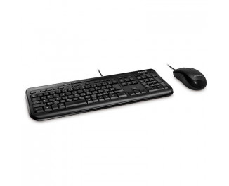 Клавиатура и мышь Microsoft Wired Desktop 600 USB Black Ru Ret