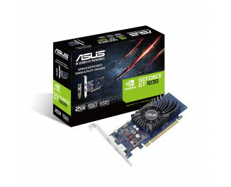 Видеокарта ASUS GeForce GT 1030 low profile (GT1030-2G-BRK)