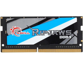Память для ноутбука SO-DIMM DDR4 8 Gb (2400 MHz) G.SKILL Ripjaws (F4-2400C16S-8GRS)