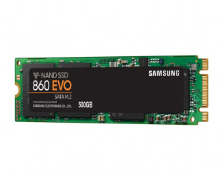 SSD накопитель 500Gb Samsung 860 Evo M.2 (MZ-N6E500BW)