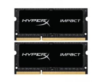 Память для ноутбука SO-DIMM DDR3 8 Gb (1866 MHz) (Kit 4 Gb x 2) Kingston (HX318LS11IBK2/8)