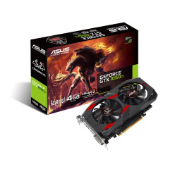 Видеокарта ASUS GeForce GTX 1050 Ti Advanced Edition 4GB (CERBERUS-GTX1050TI-A4G)
