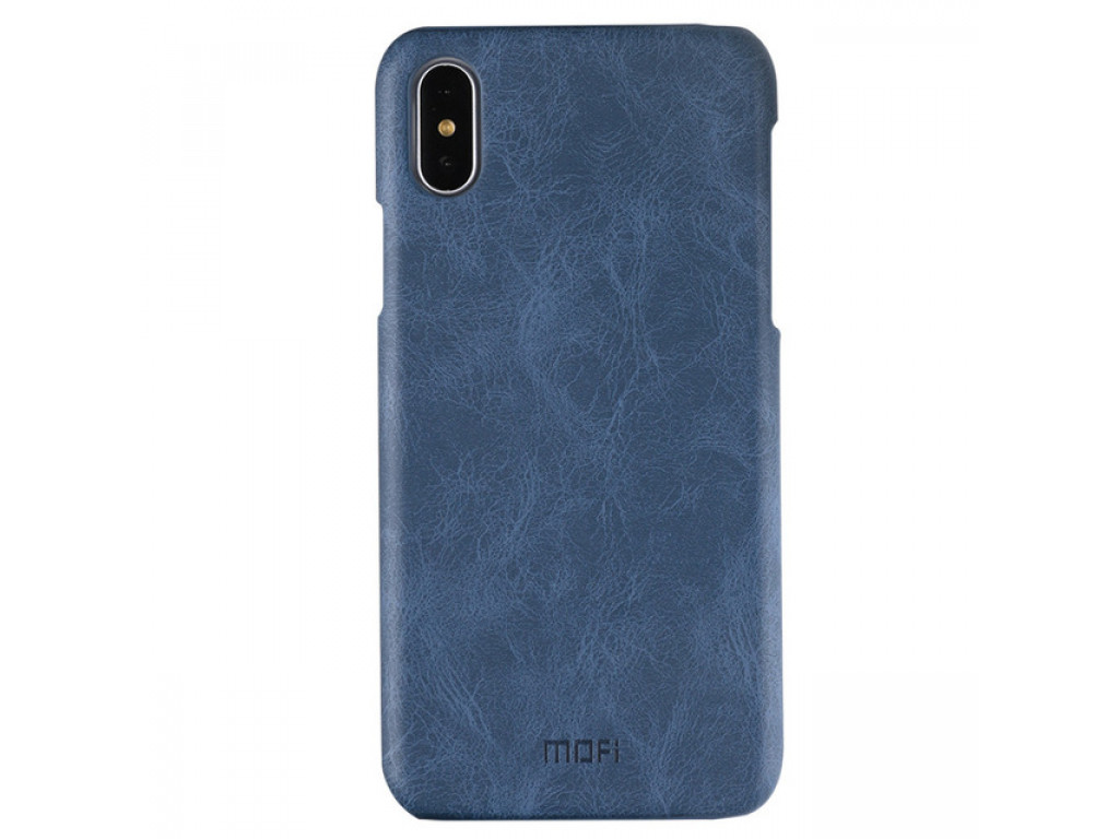 Чехол для Apple iPhone X MOFI Leather Blue