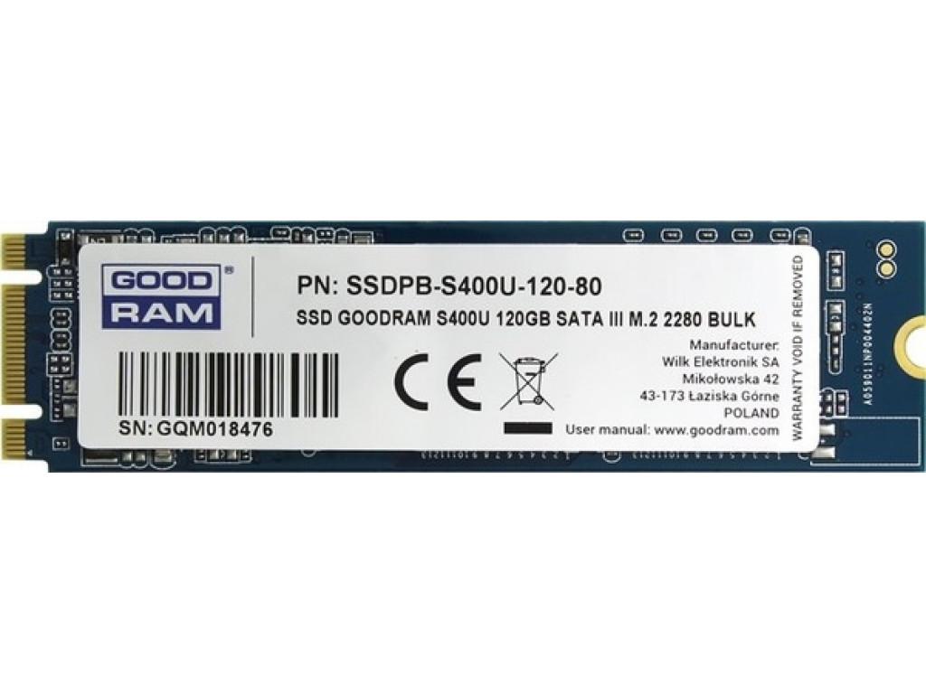 SSD накопитель 120Gb GOODRAM S400u (SSDPR-S400U-120-80)