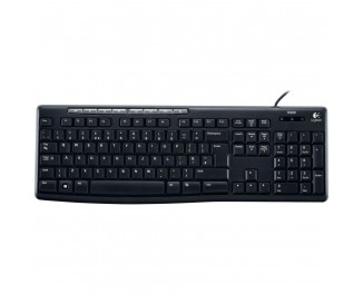Клавиатура Logitech K200 Media Keyboard RU (920-008814)