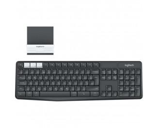Клавиатура беспроводная Logitech K375s Multi-Device Graphite RU (920-008184)