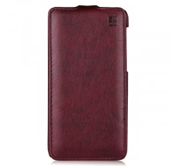 Чехол для смартфона Xiaomi Redmi 5 Plus iMUCA Leather Maroon