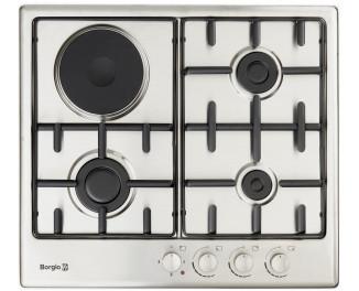 Комбинированная варочная поверхность Borgio 6630 (Inox)