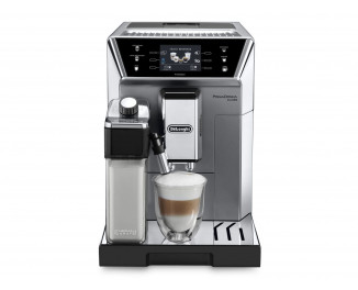 Кофемашина DeLonghi PrimaDonna Glass ECAM 550.75 MS