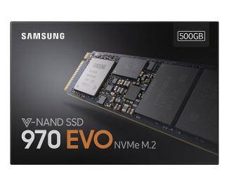 SSD накопитель 500Gb Samsung 970 EVO (MZ-V7E500BW)