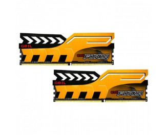 Оперативная память DDR4 16 Gb (3200 MHz) (Kit 8 Gb x 2) Geil EVO Forza Yellow (GFY416GB3200C16ADC)