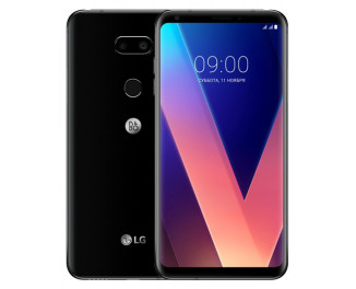 Смартфон LG V30+ 4/128Gb Black (H930DS) with B&O HF