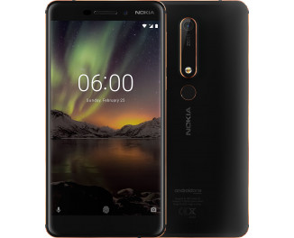 Смартфон Nokia 6.1 4/64Gb Black (TA-1068)