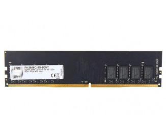 Оперативная память DDR4 8 Gb (2666 MHz) G.SKILL Value NT (F4-2666C19S-8GNT)