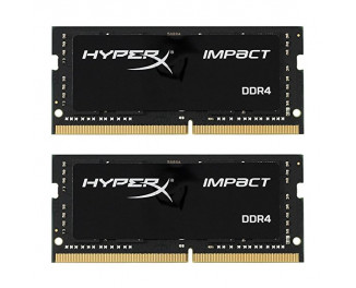 Память для ноутбука SO-DIMM DDR4 32 Gb (2666 MHz) (Kit 16 Gb x 2) Kingston HyperX Impact (HX426S15IB2K2/32)