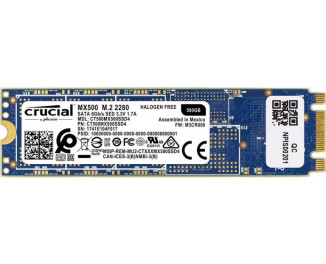 SSD накопитель Crucial 500Gb MX500 (CT500MX500SSD4)