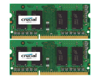 Память для ноутбука SO-DIMM DDR3L 8 Gb (1600 MHz) (Kit 4 Gb x 2) Micron Crucial (CT2KIT51264BF160BJ)